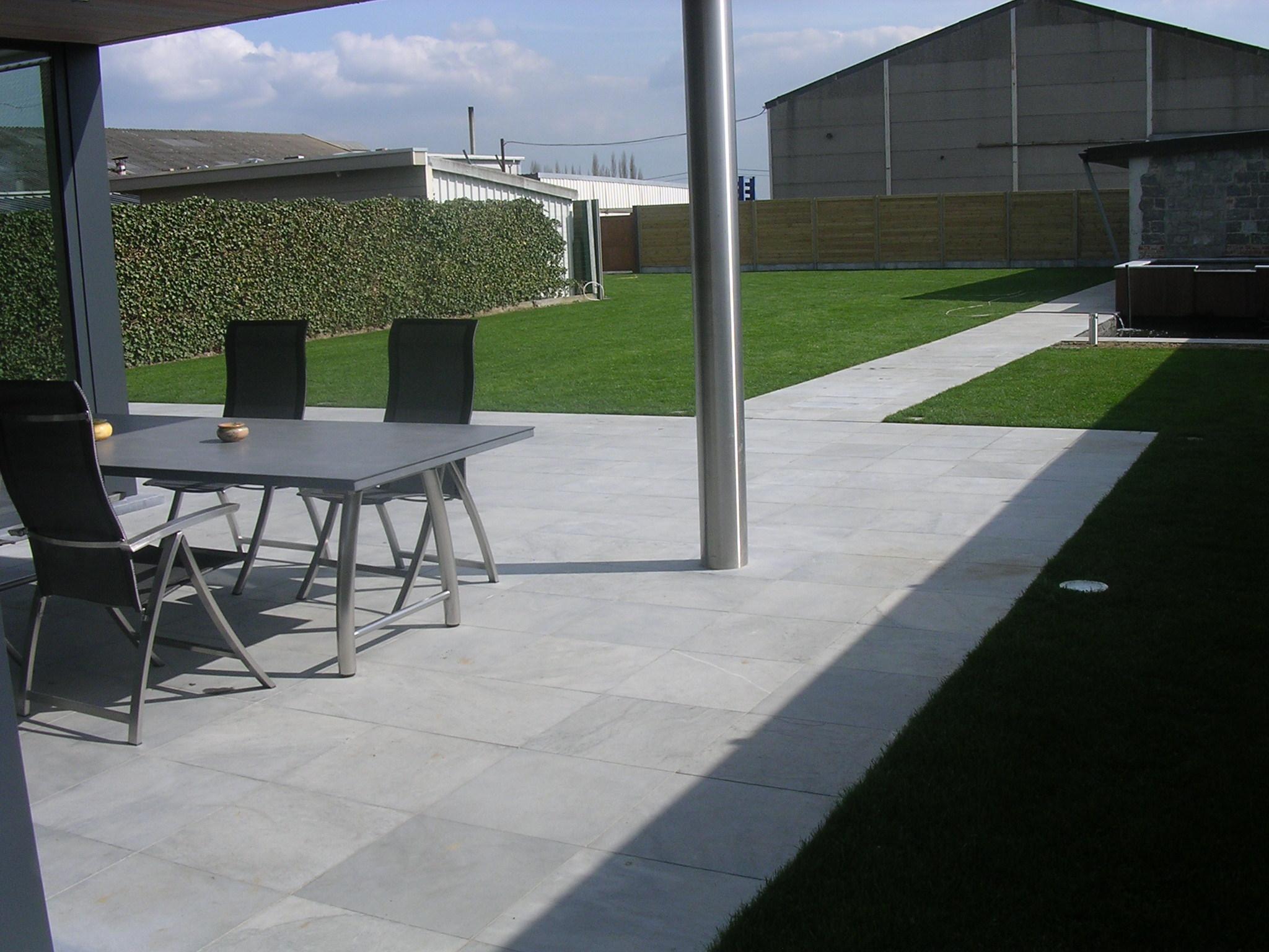 Aanleg the garden - Verwijderbare terras zwembad ...